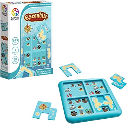Smart Games- Escondite en la Isla Jr: Amazon.es: Bebé