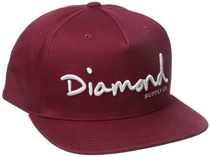 e4fdedac58f Amazon.com  Diamond Supply Co. Men s Og Script Snapback