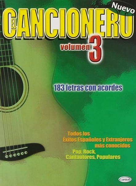 El Cancionero, Volumen 3: Amazon.es: Aa.Vv., Lyrics with Chords ...