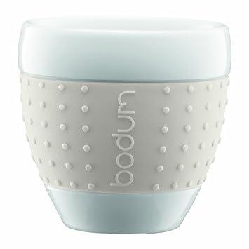 Bodum Pavina Porcelain Cups With Silicone Grip, 2 1/2 Ounce, Ideas