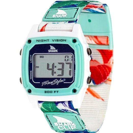 Reloj Unisex de marca Freestyle, serie Shark, FS101028. Cierre clásico, diseño Aloha Paradise, color verde.: Amazon.es: Relojes
