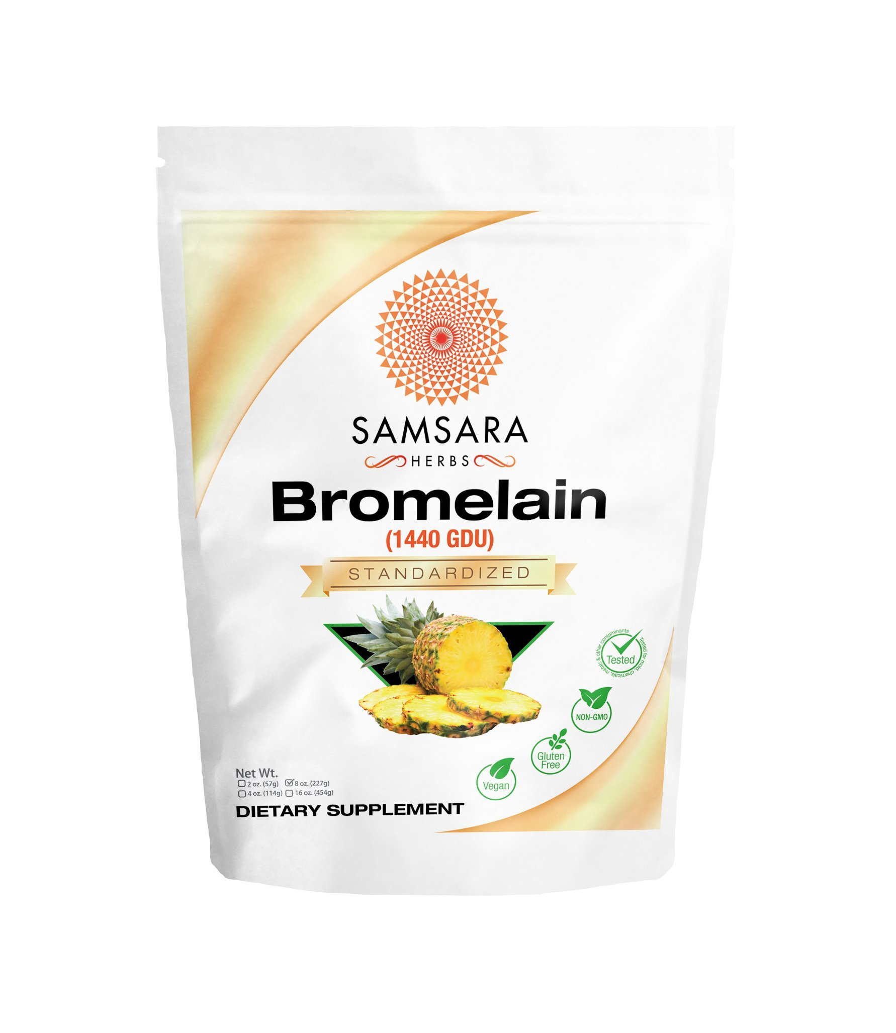 Samsara Herbs Bromelain Extract (8oz)