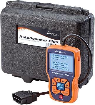 Amazon Com Actron Cp9580al Mejorada De Autoscanner Plus Con Duro Almacenamiento Caso Automotive