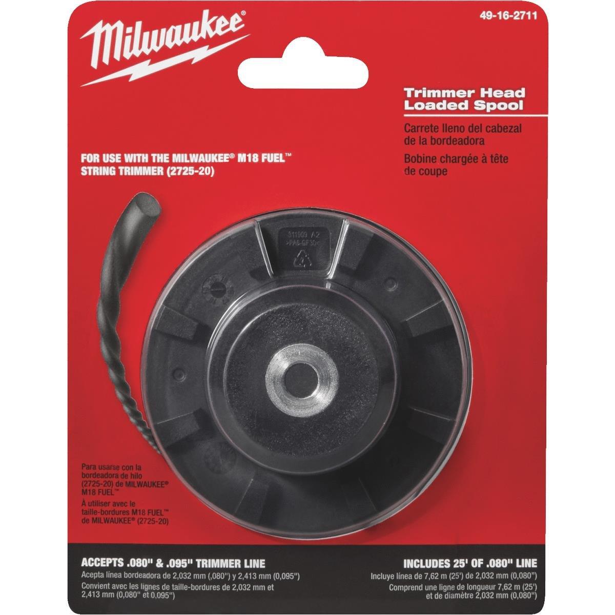 Amazon.com: Milwaukee Loaded Trimmer Head: Industrial ...