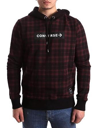Converse 10008885-A01 Sudadera Hombre Burdeos M