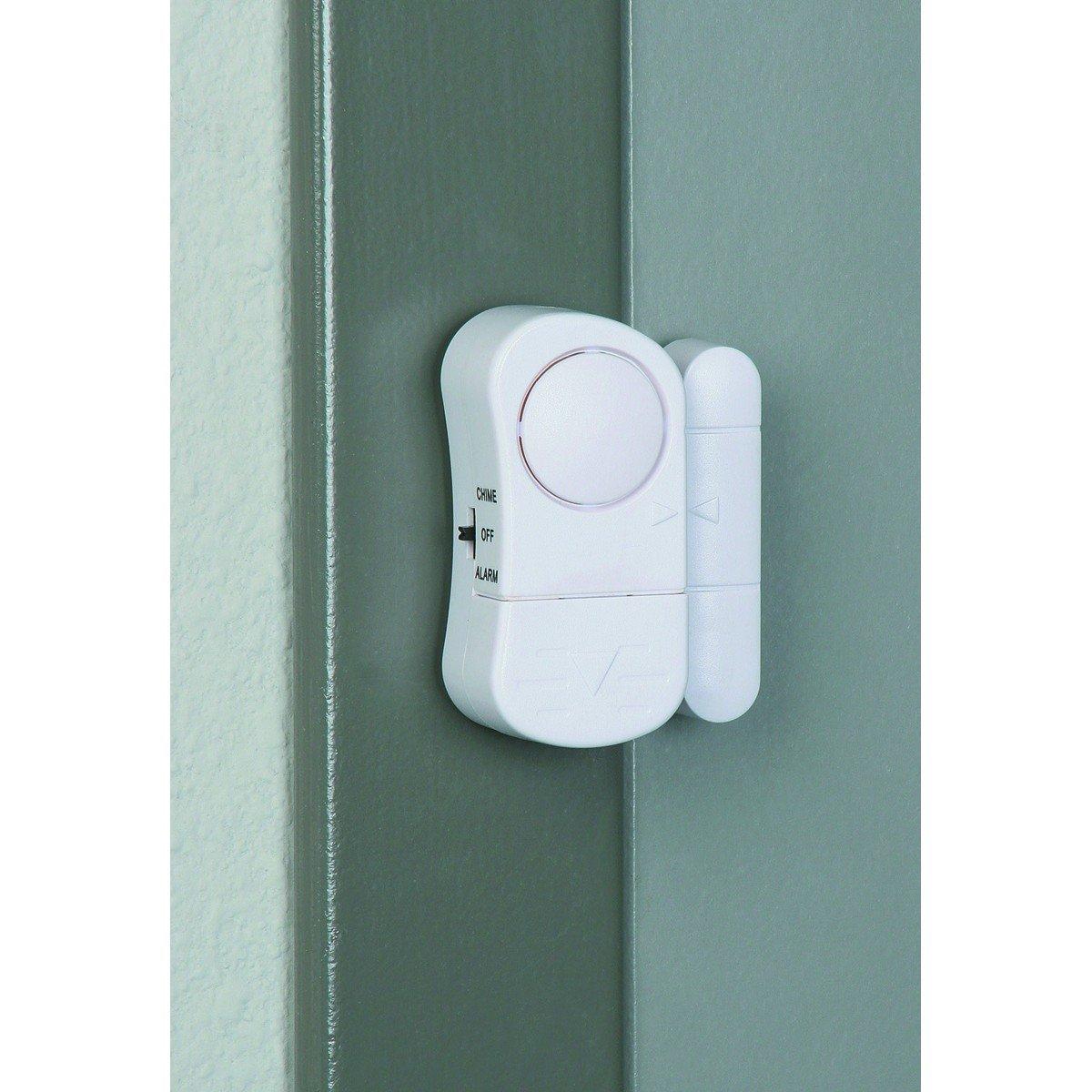 Door/Window Entry Alarm with Magnetic Sensor, Pack of 10