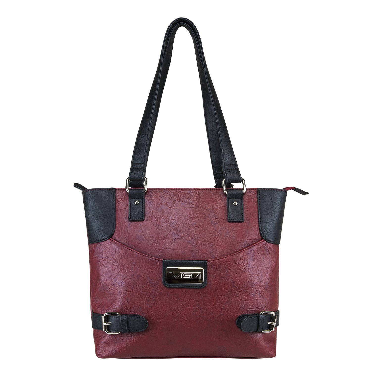 Concealed Carry Purse - Conceal Double Buckle Tote by VISM