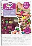 Crayola Creations Neon Charm Mash-Up Set, Craft Set, Customize Bracelets with Charms,  Creative Kids!