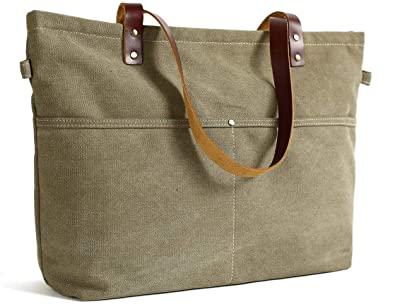 Amazon.com  Handmade Canvas Tote Bag Messenger Bag Shopper Bag School Bag  Handbag  Shoes 7eb53d53039dc