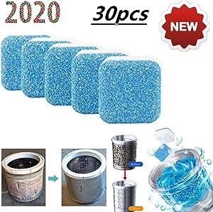 QBABY Solid Washing Machine Cleaner Effervescent Tablet Washer Cleaner washer decontamination cleaning detergent Effervescent Tablets Deep Remover Deodorant