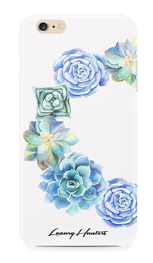 Luxuryhunters Blu Fiore Carino Sfondo Bianco Pastello Watercolour