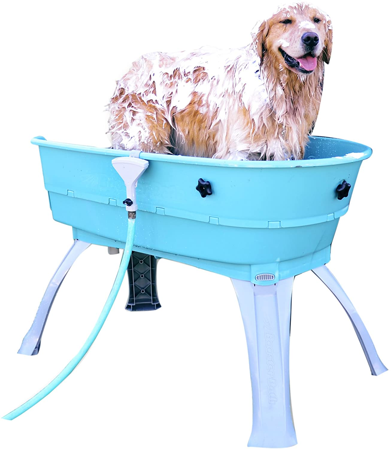 Pet Shower And Bath Supplies Amazon Com Booster Bath Elevated Pet Bathing Large