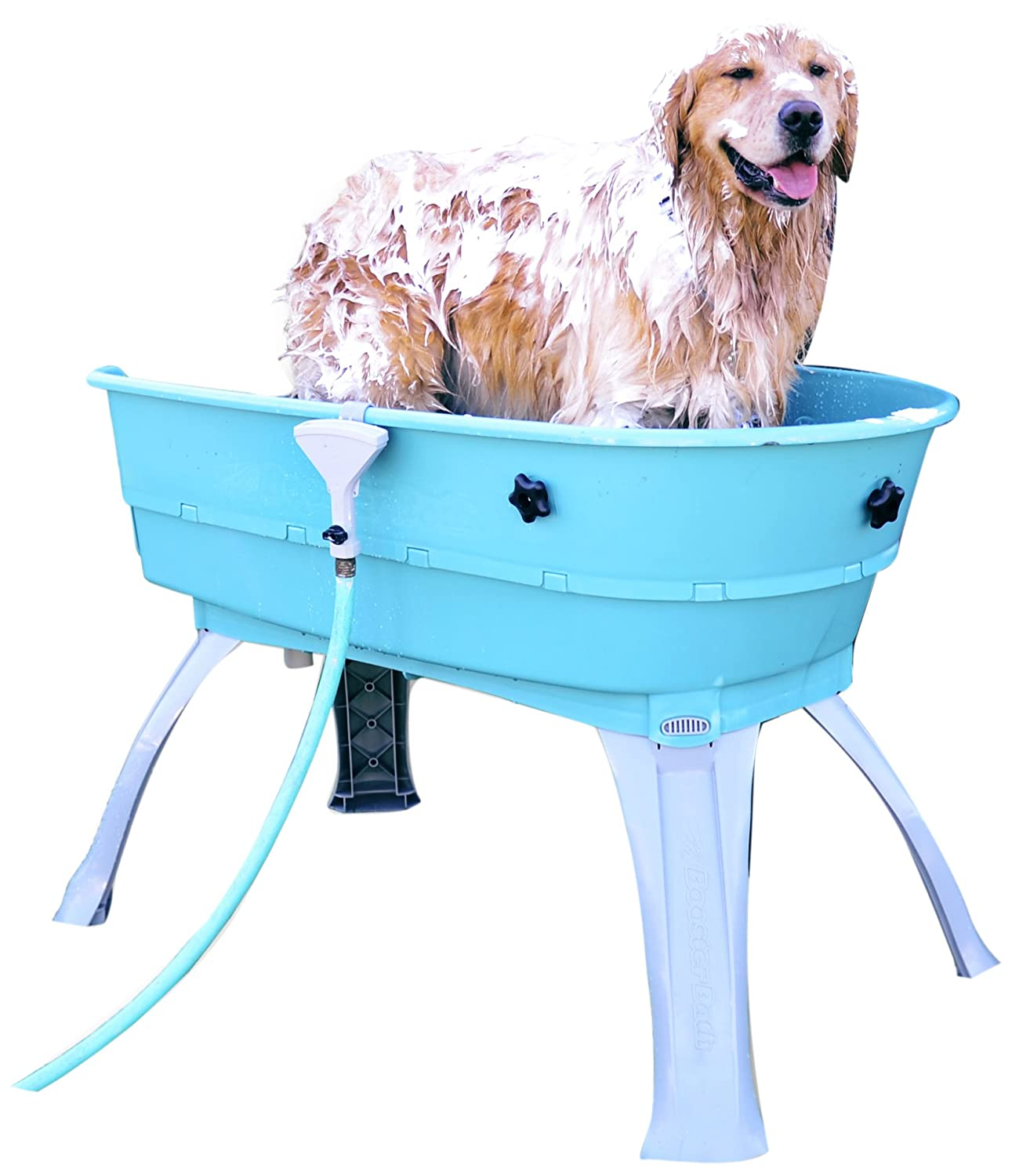 Amazon.com : Booster Bath Elevated Pet Bathing Large : Pet Shower ...