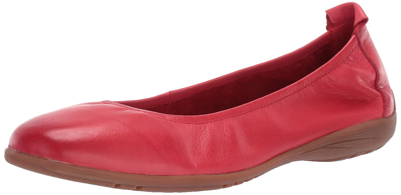 Red Josef Seibel Womens Fenja 01 Ballet Flat