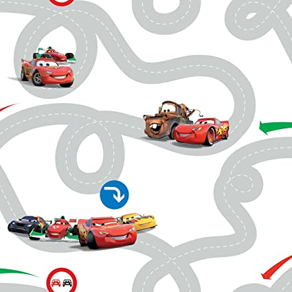 Graham Brown Kids At Homeiii Wallpaper Paper Cars Racetrack