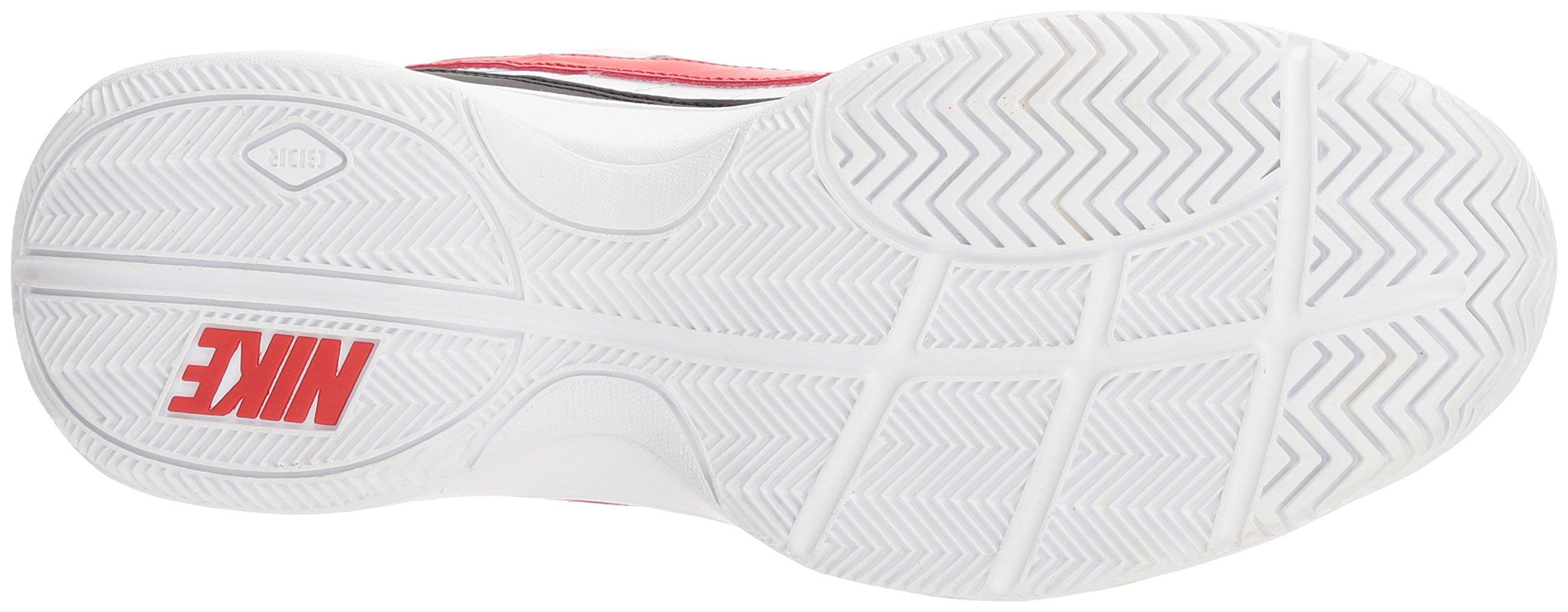 Nike Men's Court Lite Tennis Shoe, White/University red/Black, 7.5 D US by Nike (Image #3)