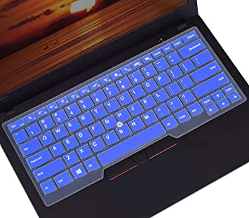 Keyboard Cover Skin for 2019 2018 2017 Lenovo Thinkpad X1 Carbon 5th/6th/7th/ThinkPad X1 Yoga 2nd/3rd/4th 2019 2018 2017/Thinkpad A475 L460 L470 T460 ...