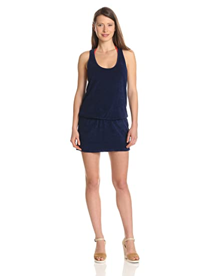 6b97ed642294 Amazon.com  Splendid Women s Terry Swimsuit Coverup Romper