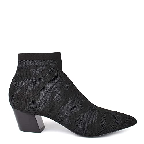 Ash Footwear Camille Botas Tobilleras de Tejido de Puntos Color Negro - Botines de Mujer: Amazon.es: Zapatos y complementos