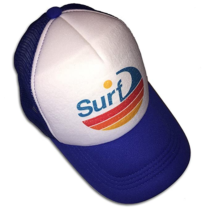 7474448ef80 Amazon.com  Sol Baby Surf Wave Stripe Infant Kids Trucker Hat  Clothing