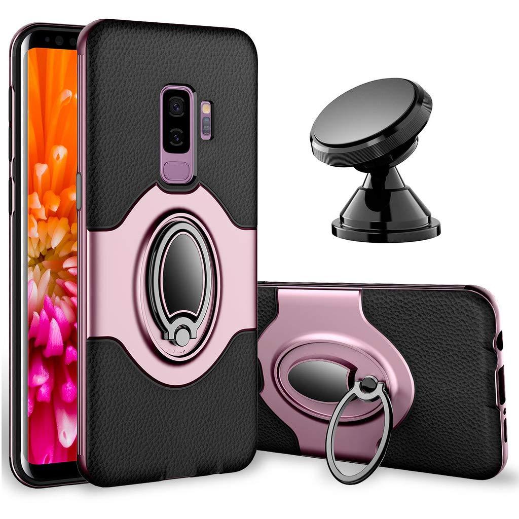 best website bab2a 411ee Amazon.com: Samsung Galaxy S9 Plus Case - eSamcore Ring Holder ...