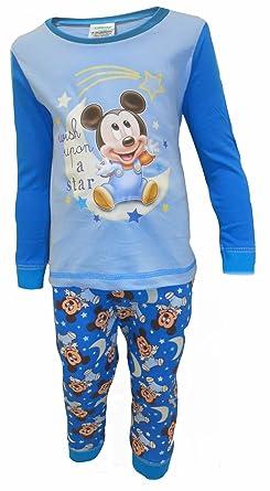 d65a513fb Disneys Mickey Mouse - Pijama Entero - para bebé niño: Amazon.es: Ropa y  accesorios