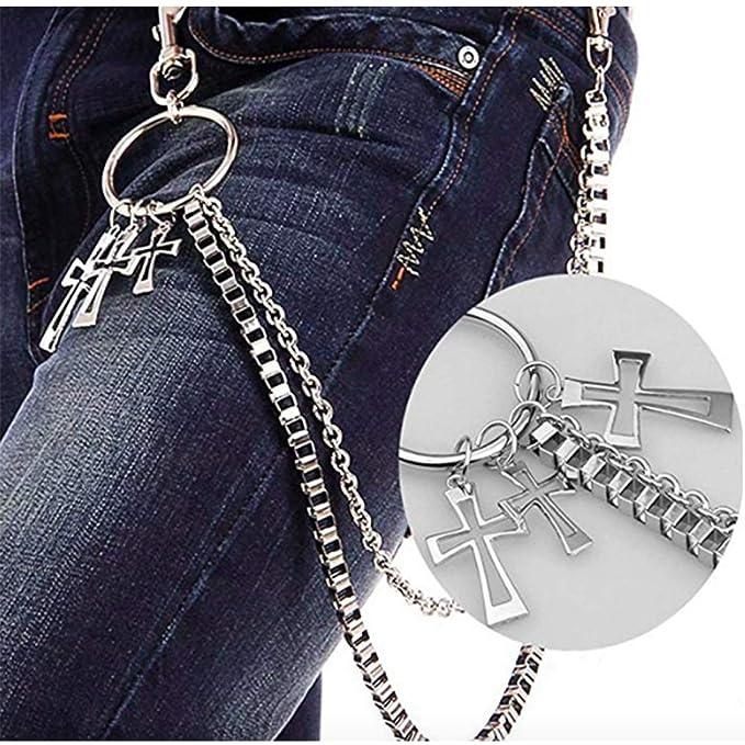 Amazon.com: Pantalones para hombre Metal cartera Clave 2 ...