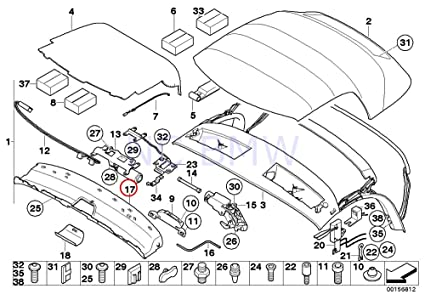 Amazon Com Bmw Genuine Windshield Frame Cover Automotive