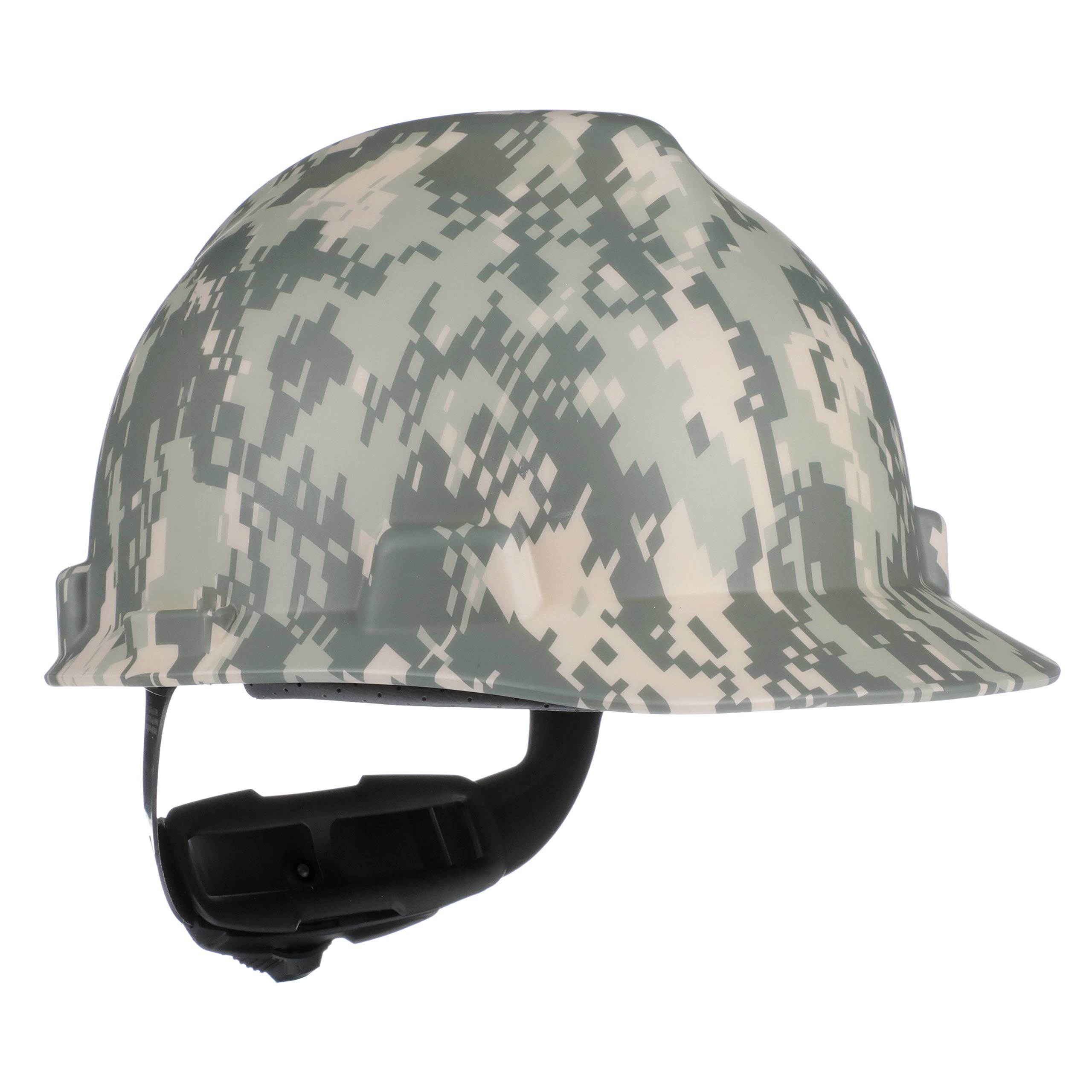 MSA 10103908 V-Gard Slotted Hard Hat, Cap Style