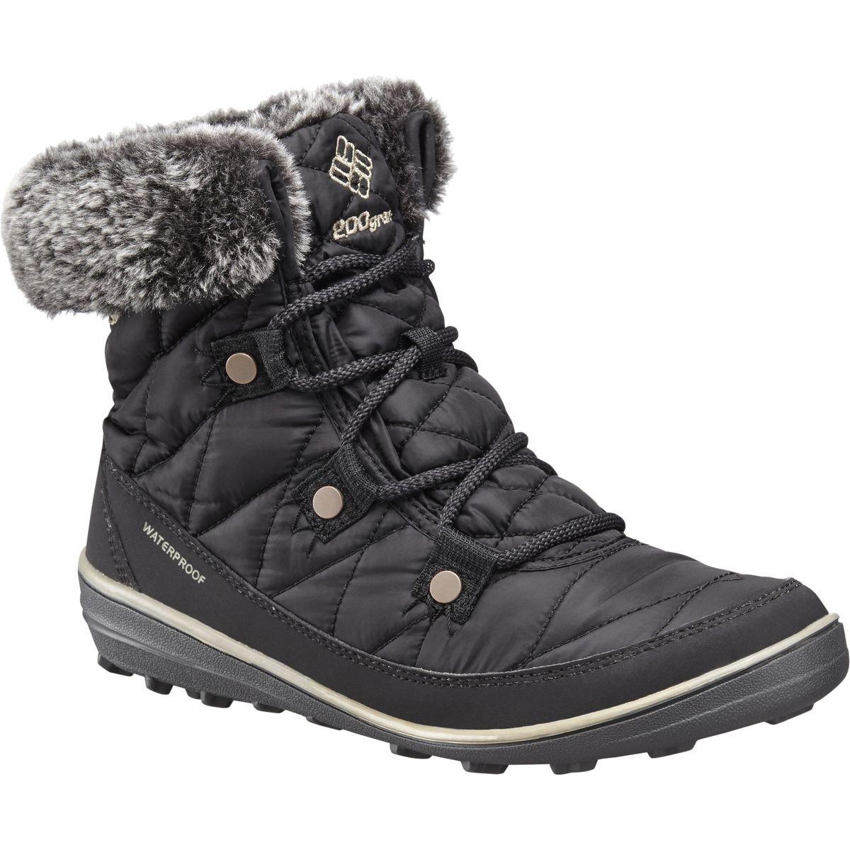 Columbia Heavenly Shorty Schuhes Damens Omni-Heat schwarz/Kettle Größe 37 2017 Stiefel -