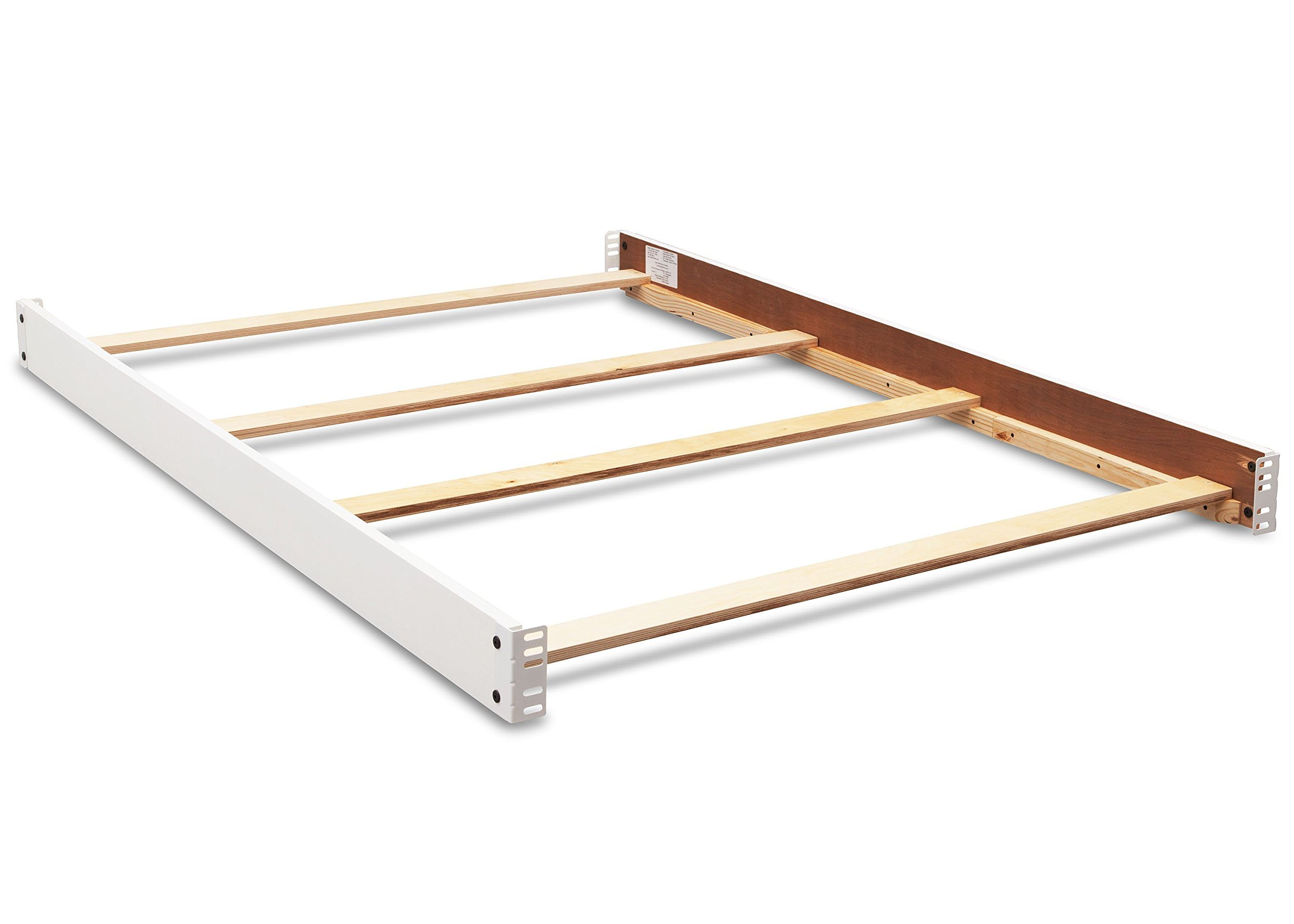 Full Size Conversion Kit Bed Rails for Baby Relax Edgemont & Miles Cribs by Dorel Living - White