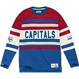 San Antonio Spurs Mitchell   Ness NBA Seasoned Pro Men s Button Up Jersey  Shirt.  108.00. Washington Capitals Mitchell   Ness NHL