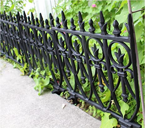 Attirant The Kings Bay Victorian Garden Fence Heavy Antique Style Old English Lawn  Edging Aluminum