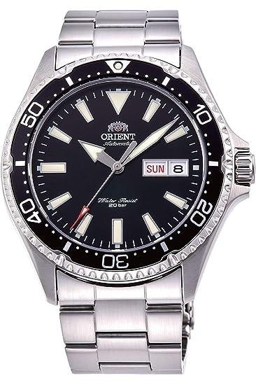 Orient Reloj Analógico para Hombre de Automático con Correa en Acero Inoxidable RA-AA0001B19B