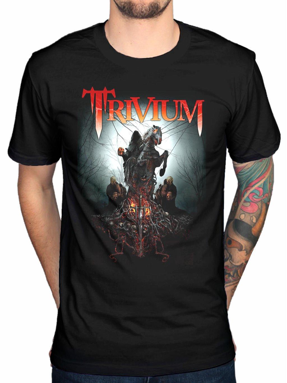 Rockstar Trivium Skull Snats T Shirt 7099