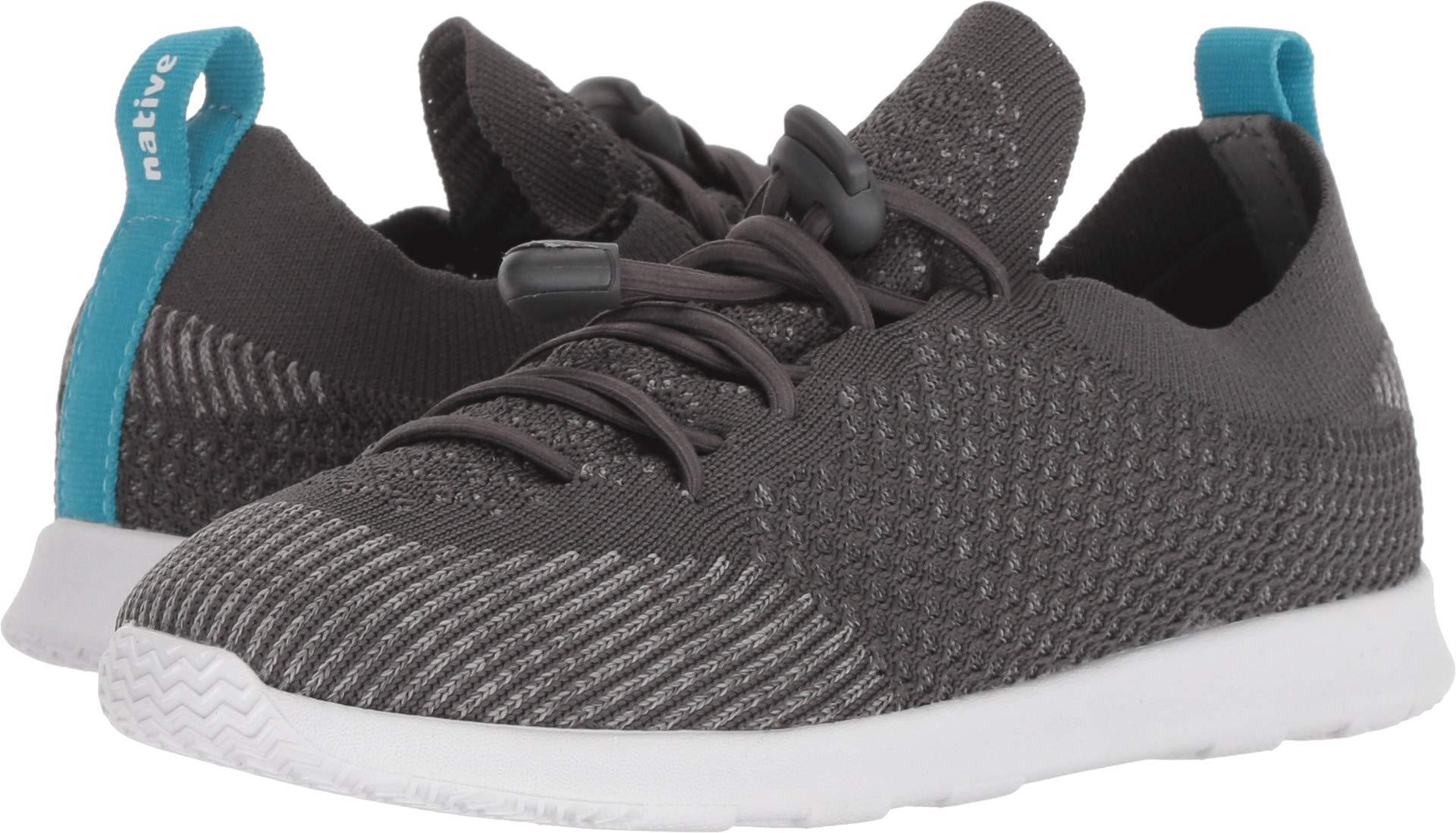 Native Kids Shoes Unisex AP Mercury Liteknit Toggle (Little Kid/Big Kid) Dublin Grey/Shell White 3 M US Little Kid