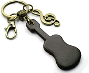 BrownBeans A BBKC15001 Homemade Bag Charm Hanging Keychain Keyring Fob Holder for Women