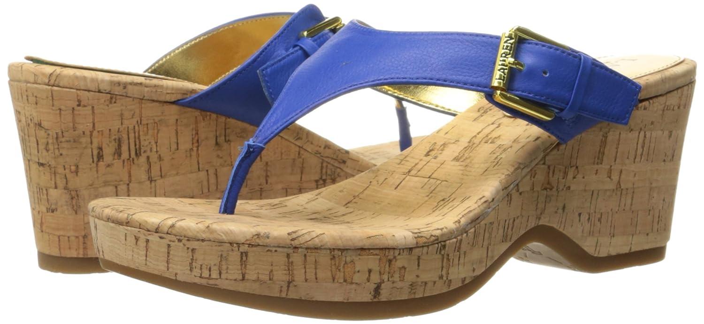 Amazon.com | Lauren Ralph Lauren Women's Oralee Wedge Sandal | Platforms &  Wedges
