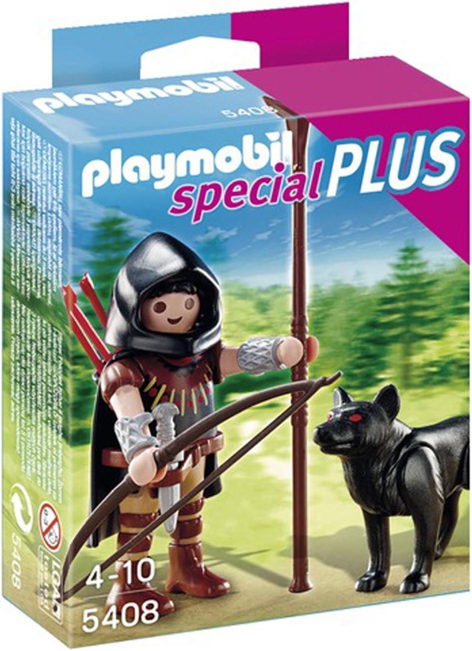 PLAYMOBIL Especiales Plus - Caballero del Lobo (5408): Amazon.es: Juguetes y juegos