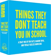 Hygge Games Things They Don't Teach You in School… Party Trivia Game