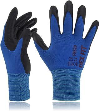 DEX FIT Gardening Work Gloves - Best Snug Fit