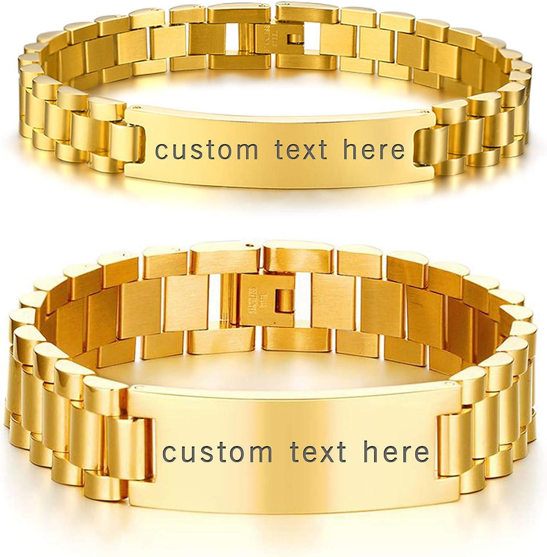 Pearl Bracelet Gold accents Brown Bracelets Waterproof Matching Bracelets WC001545 Bal Harbor Set His and Hers Bracelets