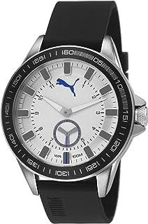 Puma Turbine 3HD metal black unisex quartz Watch with black