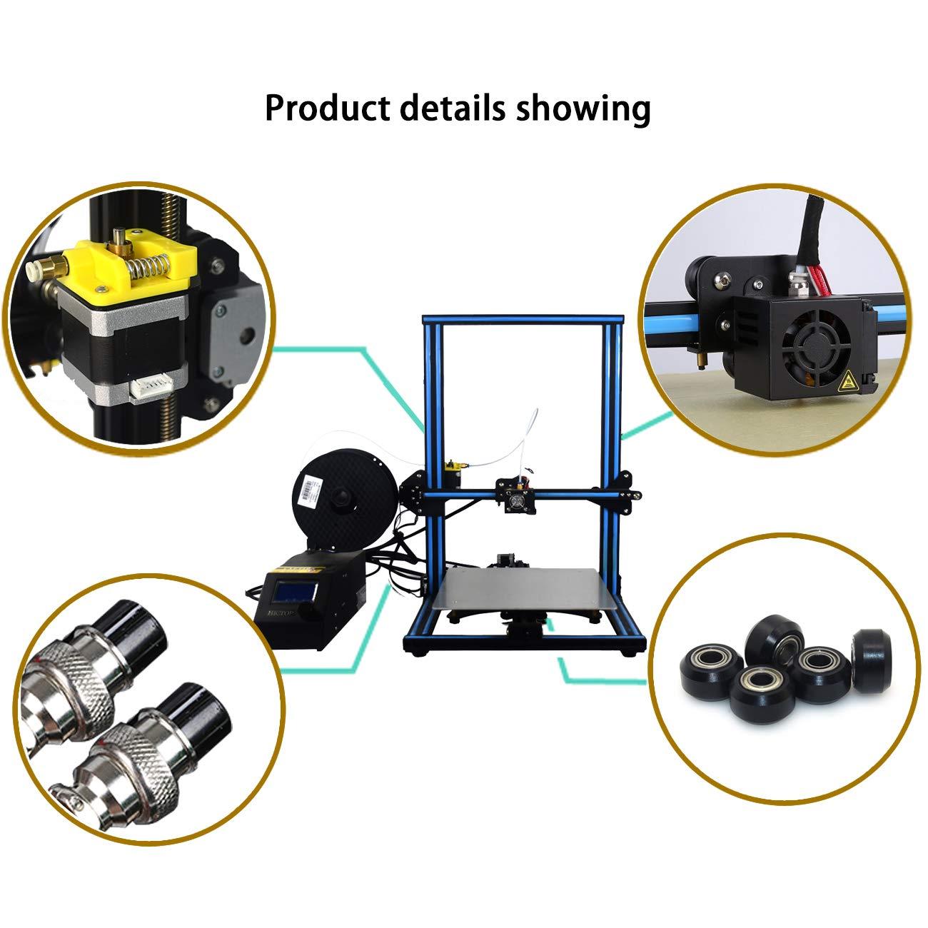 Creality 3D CR-10 Impresora 3D Prusa I3 DIY Kit de aluminio Tamaño ...