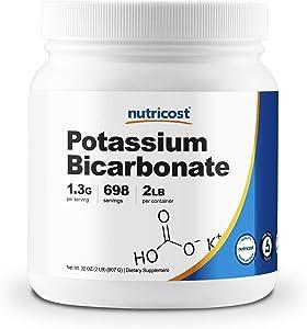 Nutricost Potassium Bicarbonate Powder 2 LB - Gluten Free, Non-GMO