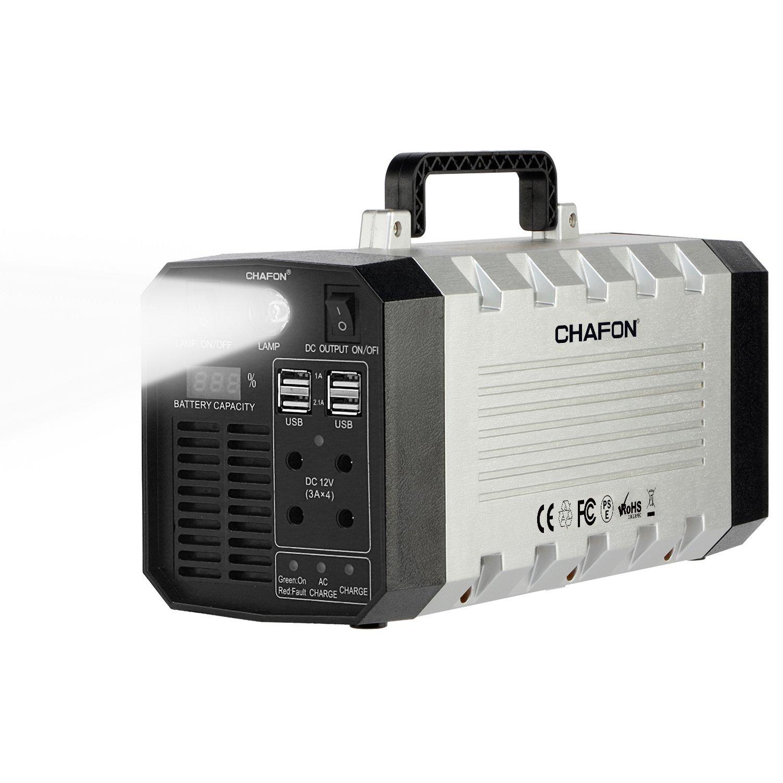 Amazon.com : CHAFON Portable Generator, 288WH UPS Battery Backup ...