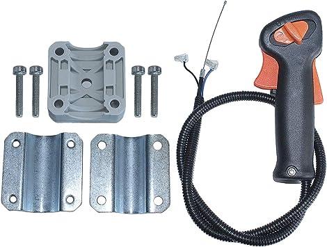 Amazon Com Aumel Handle Switch Throttle Trigger Holder Kit For Stihl Fs75 Fs80 Fs85 Strimmer Trimmer Home Improvement