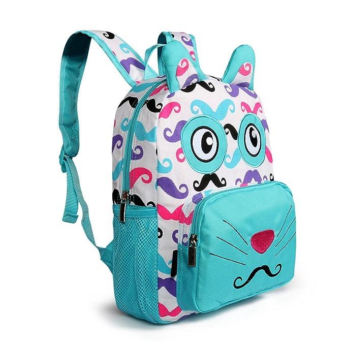 Amazon Com Advocator Toddler Kids 3d Cat Cartoon Backpack Cute