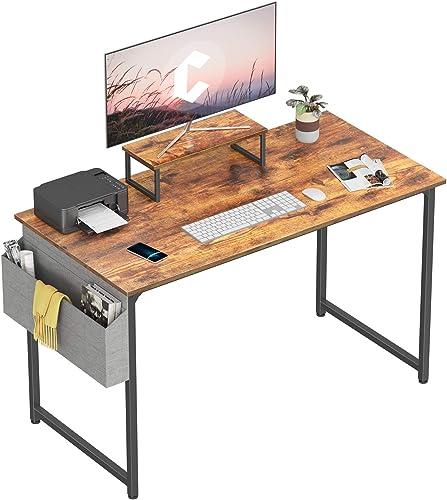 Cubiker Computer Desk 47 Inch Home Office Writing Desk Student Study Desk