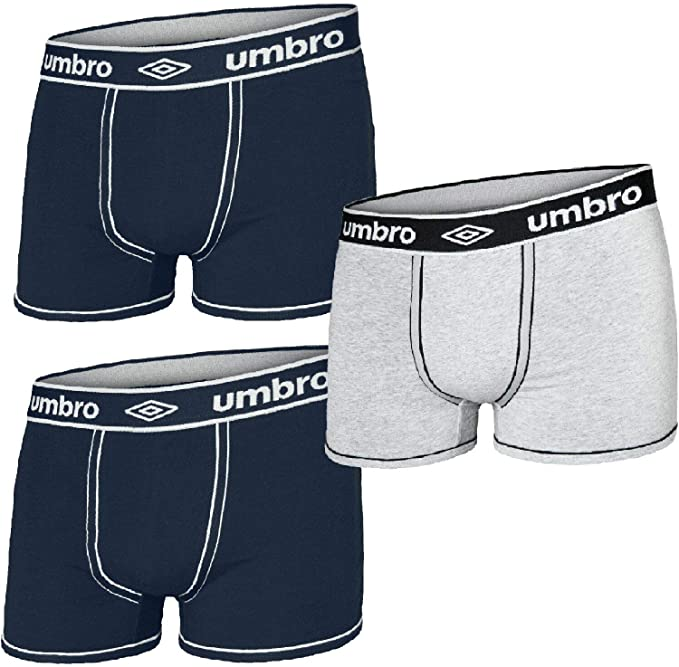 Toocool - Stock 3 Pares Boxer Hombre Umbro Pack Mutande algodón ...